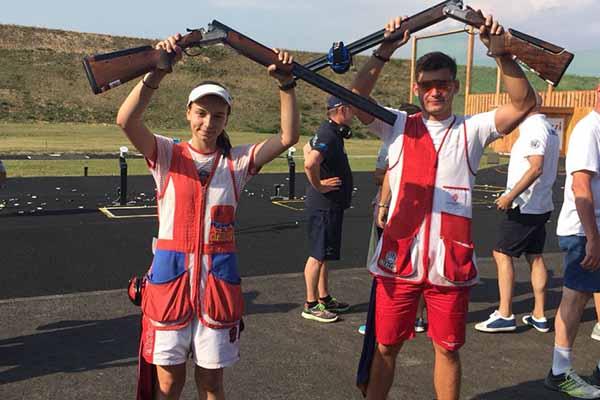 Липецкие спортсмены завоевали золото по стендовой стрельбе