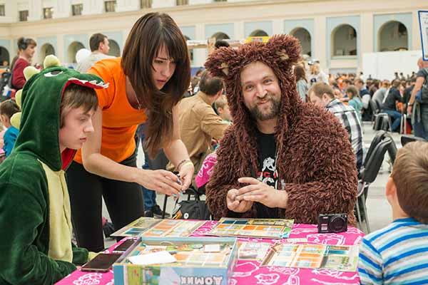 Фестиваль настольных игр и комиксов в Липецке