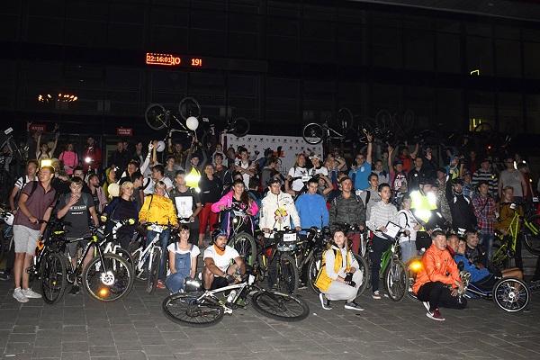В последнюю субботу сентября в Липецке пройдет массовый ночной велопробег